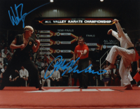 "Ralph Macchio & William Zabka Signed ""The Karate Kid"" 11x14 Photo (AutographCOA COA) at PristineAuction.com"