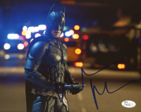 "Christian Bale Signed ""The Dark Knight"" 8x10 Photo (JSA COA) at PristineAuction.com"