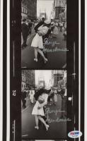 "George Mendonsa Twice-Signed ""The Kissing Sailor"" 6x10 Photo (PSA COA) at PristineAuction.com"