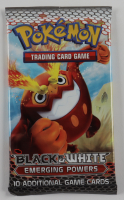 Pokemon Black & White Emerging Powers Booster Pack with (10) Cards at PristineAuction.com