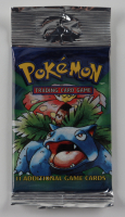 1999 Pokemon Art Base Set Venusaur Booster Pack with (11) Cards at PristineAuction.com