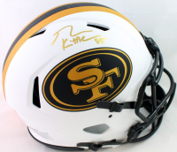 George Kittle Signed 49ers Full-Size Authentic On-Field Lunar Eclipse Alternate Speed Helmet (Beckett COA) at PristineAuction.com