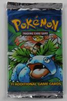 1999 Pokemon Art Base Set Venusaur Booster Pack with (11) Cards at PristineAuction.com