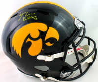 George Kittle Signed Iowa Hawkeyes Full-Size Speed Helmet (Beckett COA) at PristineAuction.com