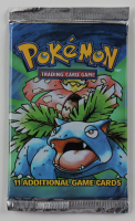 1999 Pokemon Base Set Venusaur Art Booster Pack with (11) Cards at PristineAuction.com