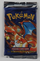 Pokemon Shadowless Base Set Art Charizard Booster Pack with (11) Cards at PristineAuction.com