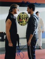 "Ralph Macchio & William Zabka Signed ""Cobra Kai"" 11x14 Photo (ACOA COA) at PristineAuction.com"