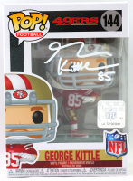 George Kittle Signed 49ers #144 Funko Pop! Vinyl Figure (Beckett COA) at PristineAuction.com