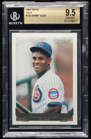 Sammy Sosa 1993 Topps Gold #156 (BGS 9.5) at PristineAuction.com
