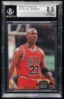 Michael Jordan 1992-93 Stadium Club #210 (BGS 8.5) at PristineAuction.com