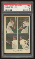 Ted Williams 1959 Fleer #65 1958 August 30 (PSA 6) at PristineAuction.com