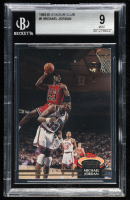 Michael Jordan 1992-93 Stadium Club #1 (BGS 9) at PristineAuction.com