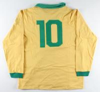 Pele Signed Brazil Jersey (Beckett Hologram) (See Description) at PristineAuction.com