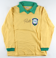 Pele Signed Brazil Jersey (Beckett Hologram) (See Description) at PristineAuction.com