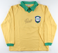 Pele Signed Brazil Jersey (Beckett Hologram) at PristineAuction.com