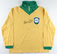 Pele Signed Brazil Jersey with Full-Name Signature (Beckett Hologram) at PristineAuction.com