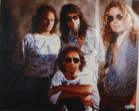 "Eddie Van Halen, Alex Van Halen, Michael Anthony, & Sammy Hagar Signed ""Van Halen"" 16x20 Photo (Beckett LOA) (See Description) at PristineAuction.com"
