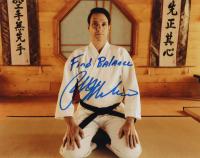 "Ralph Macchio Signed ""Cobra Kai"" 11x14 x10 Photo Inscribed ""Find Balance"" (AutographCOA Hologram) at PristineAuction.com"