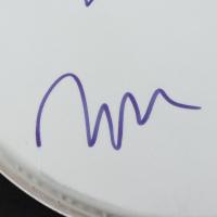 "Marilyn Manson, Madonna Wayne Gacy, Ginger Fish, & Twiggy Ramirez Signed 11"" Drumhead (Beckett LOA) at PristineAuction.com"