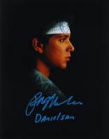 "Ralph Macchio Signed ""The Karate Kid"" 11x14 x10 Photo Inscribed ""Daniel San"" (AutographCOA Hologram) at PristineAuction.com"