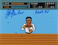 "Ralph Macchio Signed ""The Karate Kid"" 11x14 x10 Photo Inscribed ""Karate Kid"" (AutographCOA Hologram) at PristineAuction.com"