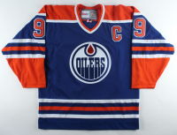 Wayne Gretzky Signed Oilers Jersey (Beckett LOA) at PristineAuction.com