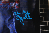 """Ed Gale Signed """"Child's Play"""" 11x14 Photo Inscribed """"Chucky"""" (AutographCOA COA) at PristineAuction.com"""