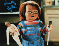 "Ed Gale Signed ""Child's Play"" 11x14 Photo Inscribed ""Chucky"" (AutographCOA COA) at PristineAuction.com"