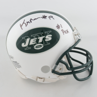 "Keyshawn Johnson Signed Jets Speed Mini Helmet Inscribed ""#1 Pick"" (Beckett COA) at PristineAuction.com"