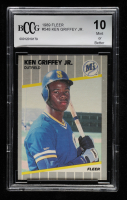 Ken Griffey Jr. 1989 Fleer #548 RC (BCCG 10) at PristineAuction.com