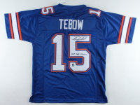 "Tim Tebow Signed Jersey Inscribed ""07 Heisman"" (Tebow Hologram) at PristineAuction.com"