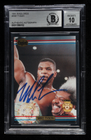 Mike Tyson Signed 1991 Ringlords #NNO Promo (BGS Encapsulated) at PristineAuction.com