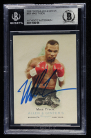 Mike Tyson Signed 2006 Topps Allen & Ginter #301 (BGS Encapsulated) at PristineAuction.com