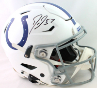 Darius Leonard Signed Colts Full-Size Authentic On-Field SpeedFlex Helmet (Beckett COA) at PristineAuction.com
