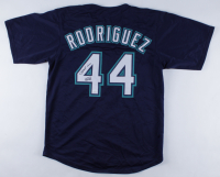 """Julio Rodriguez Signed Mariners Jersey Inscribed """"JROD Show"""" (JSA COA) at PristineAuction.com"""