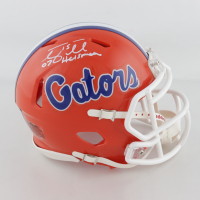 "Tim Tebow Signed Florida Gators Speed Mini Helmet Inscribed ""07 Heisman"" (Tebow Hologram) (See Description) at PristineAuction.com"