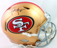 Frank Gore Signed 49ers Full-Size Authentic On-Field Speed Helmet (Beckett COA) at PristineAuction.com
