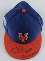 "Tim Tebow Signed Mets Game-Used New Era Fitted Baseball Hat Inscribed ""2019 Game Used"" (Tebow Hologram) at PristineAuction.com"