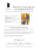 "Arnold Schwarzenegger Signed ""The Terminator"" 8x10 Photo (Beckett LOA & PSA Hologram) at PristineAuction.com"