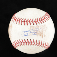 Julio Rodriguez Signed OML Baseball (JSA COA) (See Description) at PristineAuction.com