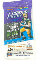 2020 Panini Prestige Football Cello Pack with (30) Cards at PristineAuction.com