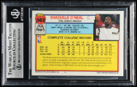 Shaquille O'Neal 1992-93 Topps #362 RC (BGS 9) at PristineAuction.com