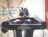 "Hafthor Julius Bjornsson Signed ""Games Of Thrones"" 8x10 Photo Inscribed ""Gregor Clegane A.K.A The Mountain"" (Beckett COA) at PristineAuction.com"