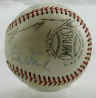 MLB Hall of Famers ONL Baseball Signed by (16) with Casey Stengel, Zack Wheat, Goose Goslin, Frankie Frisch (JSA LOA) at PristineAuction.com