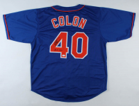 "Bartolo ""Big Sexy"" Colon Signed Jersey Inscribed ""Big Sexy"" (JSA COA) at PristineAuction.com"