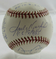 MLB Perfect Games OML Baseball Signed by (11) with Sandy Koufax, David Cone, Randy Johnson, Kenny Rogers, Don Larsen (JSA LOA) at PristineAuction.com
