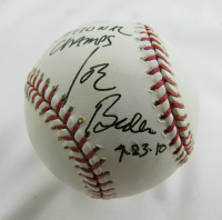 Joe Biden Signed OML Baseball with Inscription (JSA LOA) at PristineAuction.com