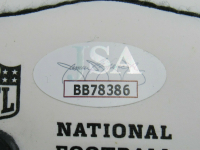 George H.W. Bush Signed NFL Logo Mini Football (JSA LOA) at PristineAuction.com