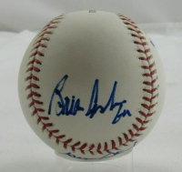 "George Steinbrenner, Joe Torre & Brian Cashman Signed OML Baseball Inscribed ""GM"" (JSA LOA) at PristineAuction.com"