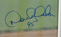 """Derek Jeter Signed 19x24 Custom Framed Photo Display Inscribed """"95"""" (JSA LOA) at PristineAuction.com"""